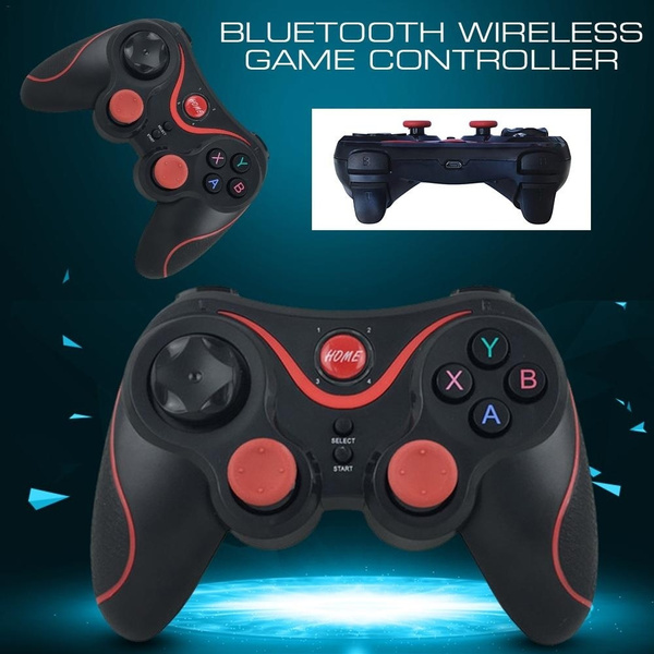 T7 Bluetooth Game Controller Smart Wireless Joystick Gamepad for  Android/iOS/Win 7/8/10 System Bluetooth Connection PS3