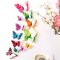 butterfly, magneticwallsticker, Decor, wallstickerhomedecoration