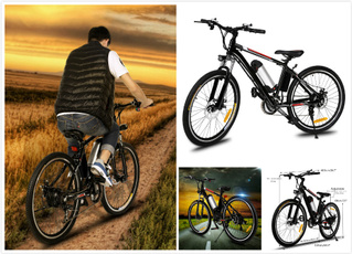 Mountain, Bicycle, Electric, Aluminum