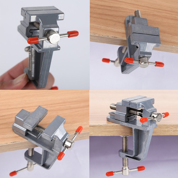 Astonishing Table Clamp Small Bench Vice Jewelers Hobby Clamps Craft Repair Tool Portable Work Bench Vise Aluminum Small Jewelers Hobby Clamp On Table Bench Vise Andrewgaddart Wooden Chair Designs For Living Room Andrewgaddartcom