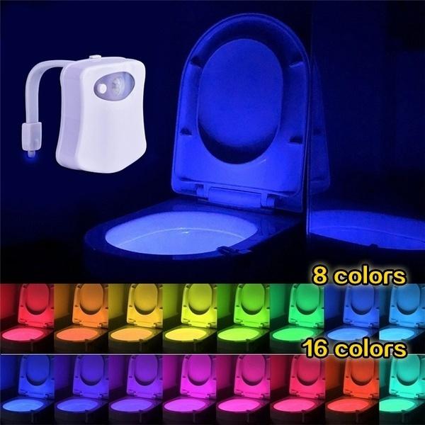 toilet, Bathroom, Bathroom Accessories, Night Light