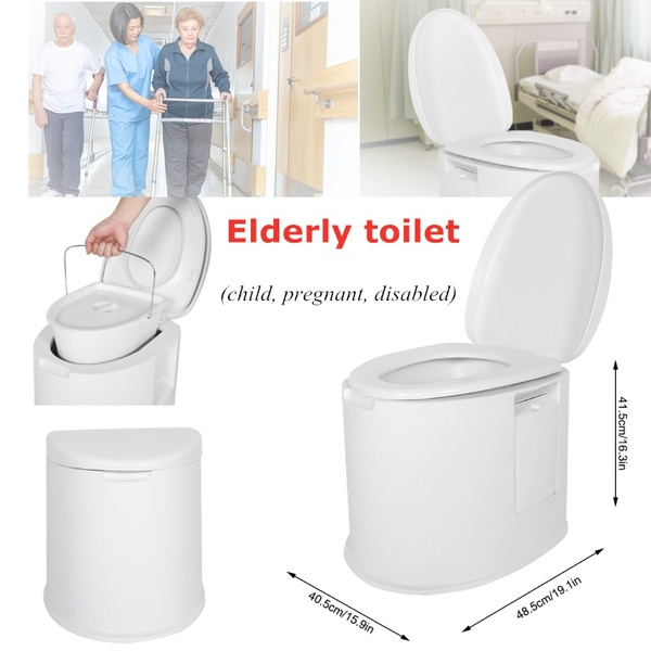 Amazing Heighten Bathroom Portable Commuter Toilet Chair Elderly Children Disabled Pregnant Women Toilet Gmtry Best Dining Table And Chair Ideas Images Gmtryco