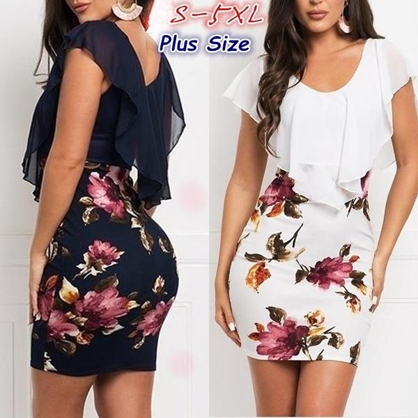 Summer, Fashion, Floral print, chiffon