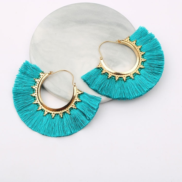 ethnicearring, bohemia, Tassels, Fashion