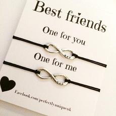 Charm Bracelet, Gifts For Her, Infinity, Joyería