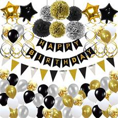 balloonslatex, birthdaydecor, Home & Living, happybirthdayballoon