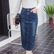 Blues, Fashion Skirts, long skirt, pencil skirt