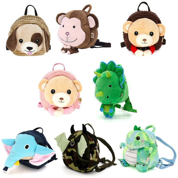 New Kids Baby Safety Harness Backpack Leash Child Toddler Anti Lost Cartoon Animal Bag Ejc Wish