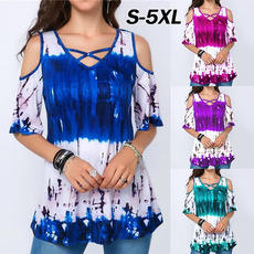 blouse, Summer, Plus Size, Shirt