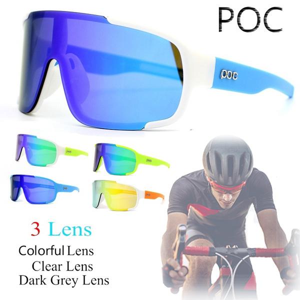 Cycling MTB Bike Bicycle Glasses 3 Lens Outdoor Sport Eyewear Sunglasses