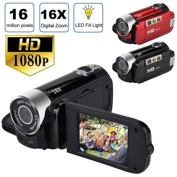 Minolta MN35Z-R 20MP 1080P Full HD Wi-Fi Bridge Camera with 35 x Zoom, Red