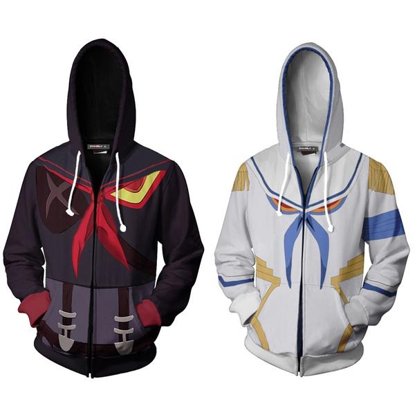 KILL la KILL Senketsu Cosplay Hoodie size M L XL Jacket