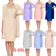 slim dress, Moda, Encaje, knee length dress
