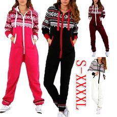 Christmas, Plus Size, onesiepajama, jumpsuitromper