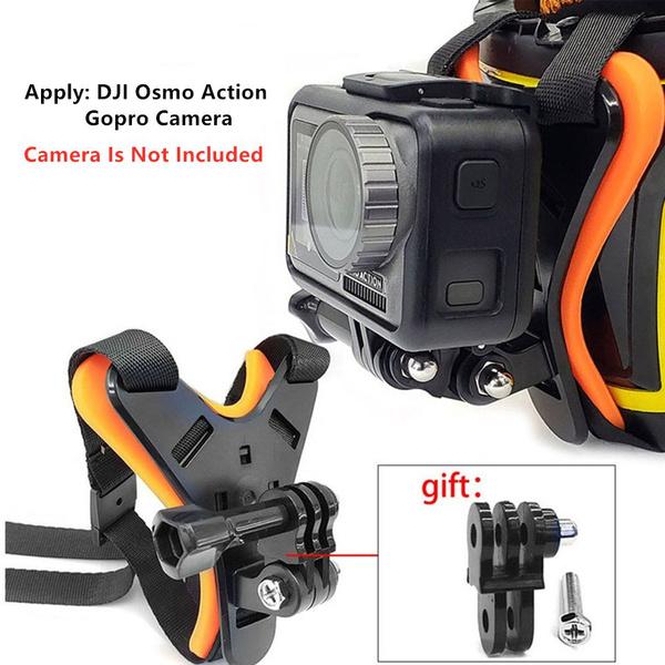 Full Face Helmet Chin Mount Holder For Gopro Hero 7 Sjcam Motorcycle Helmet Chin Stand For Gopro 6 5 Camera Accessory