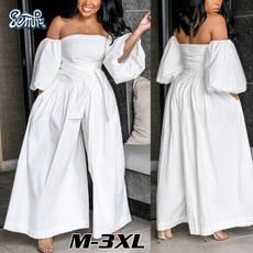 elegantjumpsuit, trousers, Cotton, Sleeve