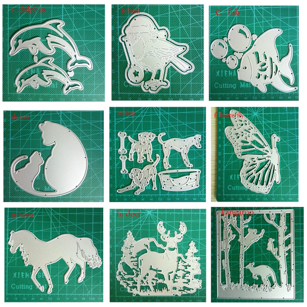 Label Metal Cutting Dies Thanks Cards Scrapbooking Die Stamp DIY Scrapbooking