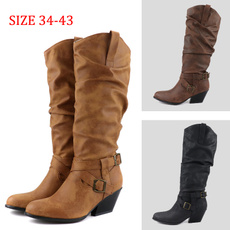 midcalfboot, Knee High, Womens Shoes, Cowboy