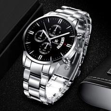 Steel, Stainless, Fashion, chronographwatch