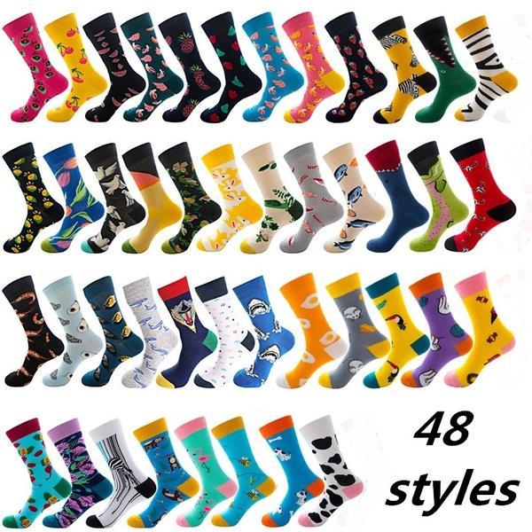 Hosiery & Socks, cute, womensock, Colorful