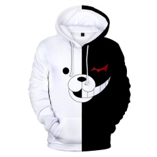 danganronpa, 3D hoodies, Fashion, Cosplay