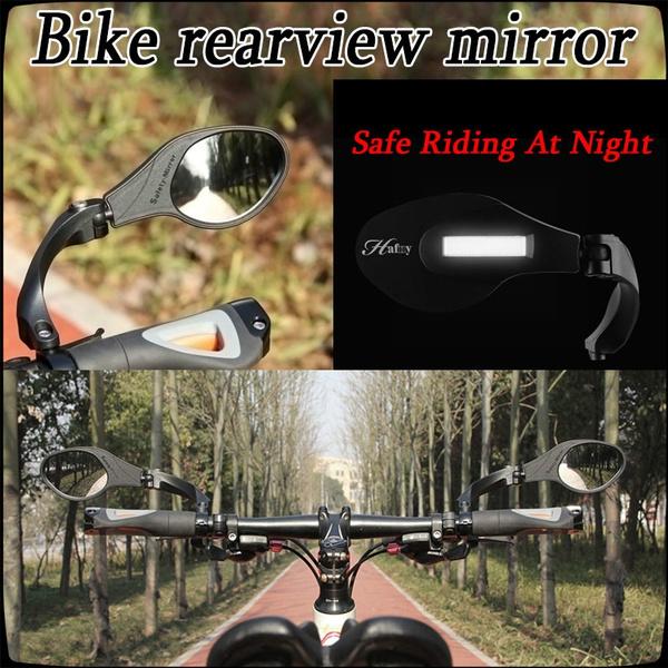 Bicycle Rearview Mirror Cycling Bike Handlebar Safe Flexible Mirrors Back Mirror