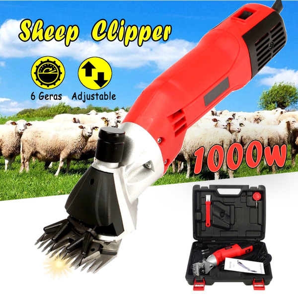 1080W Electric Farm Supplies Sheep Goat Shears Animal Grooming Shearing Clipper