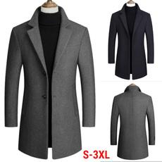 men coat, Plus Size, Winter, Sleeve