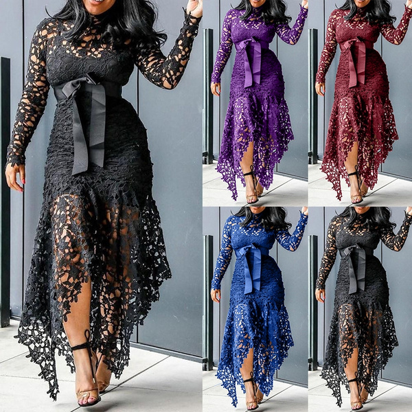 Lace Dress, Fashion, Lace, Hollow-out