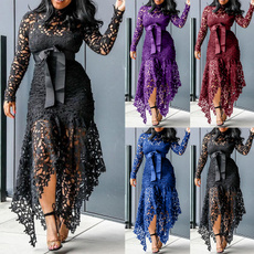 Lace Dress, Fashion, Lace, Hollow-out