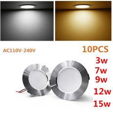 led, Aluminum, luzdepanel, lights