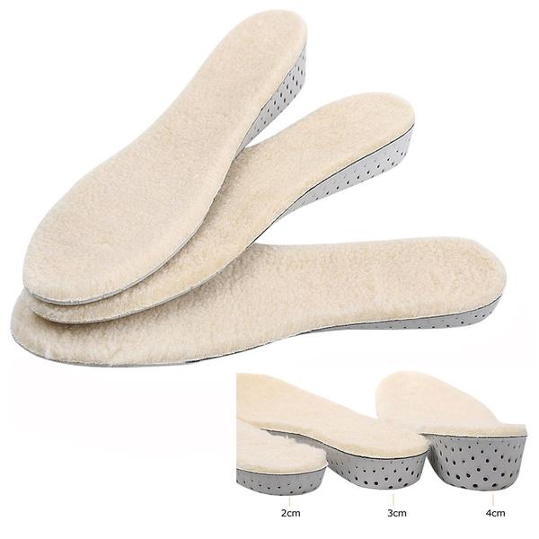 2-4cm Height Taller Elevator Men Women Shoes Insole Cushion Heel Lift Insert Pad