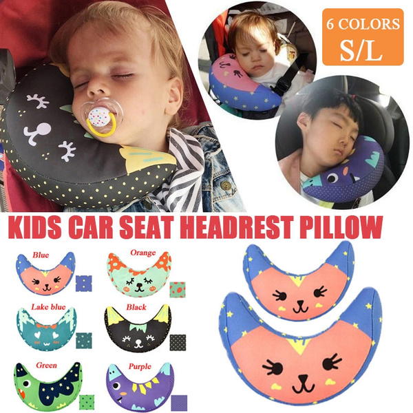 Astounding 6 Colors Kids Headrest Pillow Car Seat Belt Cover Baby Sleeping Neck Pillow Head Support Shoulder Pad Children Nap Pillows Kids Supplies S L Creativecarmelina Interior Chair Design Creativecarmelinacom