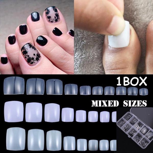 Box, decoration, nail tips, Beauty