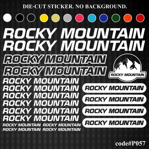 NOS Rocky Mountain Bikes sticker