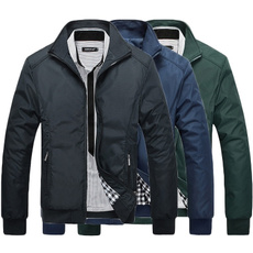 Turn-down Collar, Casual Jackets, Slim Fit, Winter
