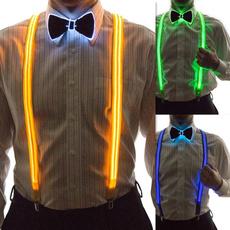 suspenders, ledbowtie, Cosplay, led