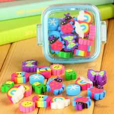 1 Set//20 Pcs Kawaii Cartoon Cute Rubber Eraser Kid Gift School Supplies Stationery borracha material escolar utiles escolares papelaria