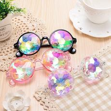 kaleidoscopeglasse, Holographic, Colorful, Festival