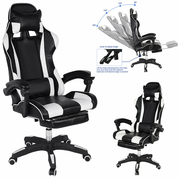 Sensational Game Chair Adjustable E Sports Chair Ergonomic Office Lounge Chair Massage Waist Chair Dailytribune Chair Design For Home Dailytribuneorg