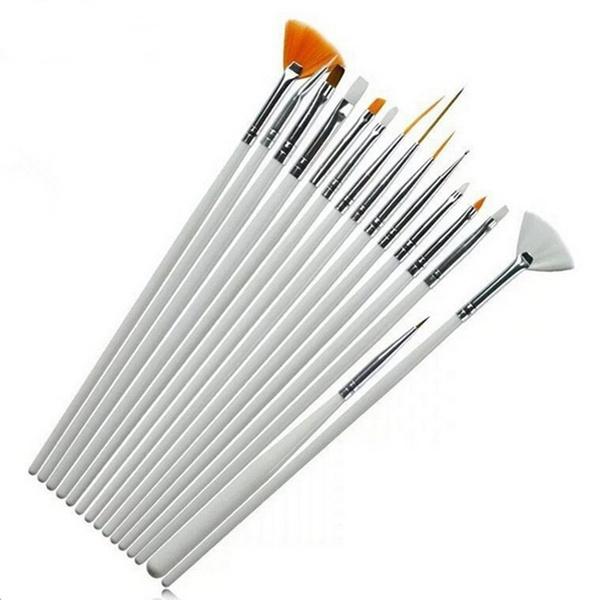 drawingbrush, oilpaintingbrushe, Nail Art Accessories, nail art tools