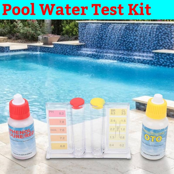 1 Set PH Chlorine Water Quality Test Kit Swimming Pool Accessory Tester