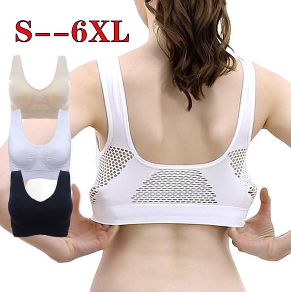 Plus Size, Underwear, Sports Bra, Yoga