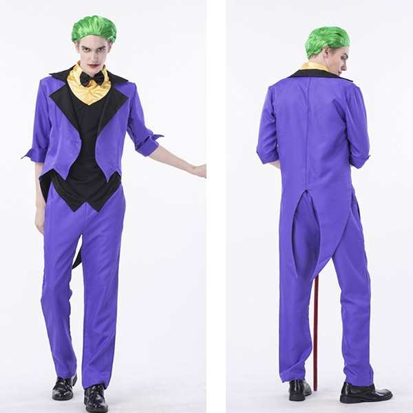 Movie Joker Arthur Fleck Cosplay Costume Carnival Halloween Costumes Batman Cosplay Joker Costume Uniform Daily Suit