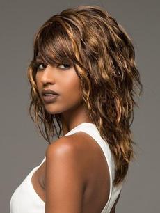 wig, brown, Fashion, fluffy