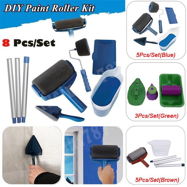 paintingsupplie, multifunctionpaintbrush, handlespaintpad, Tool