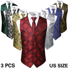 Pocket, Vest, Necktie, handkerchief