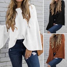 knitwear, Plus Size, Bell, Tops