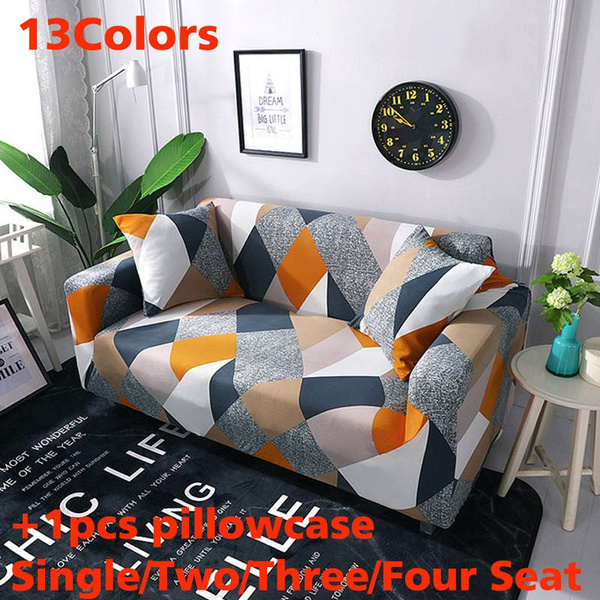 Sensational Single Two Three Four Seat Stretch Slipcovers Sectional Elastic Stretch Sofa Cover For Living Room Couch Cover L Shape Armchair Cover Uwap Interior Chair Design Uwaporg