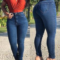 holejean, trousers, Moda, Elastic